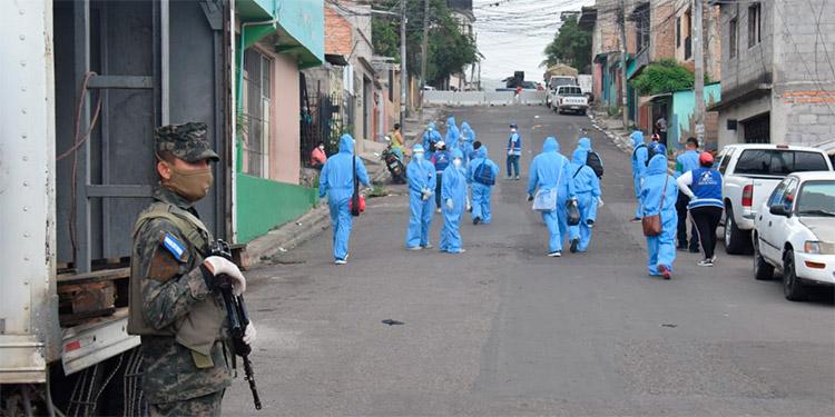 Hoy continuarán con la visita de casa en casa en las colonias Ayestas y Ulloa de Comayagüela.