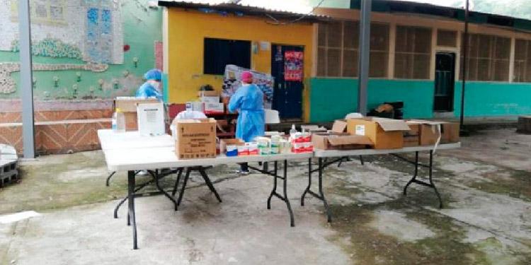 Brigadas COVID-19 visitan cuatro colonias de Comayagüela