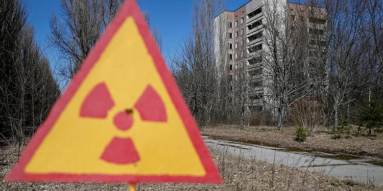Bajos niveles de radioactividad de origen humano en el norte de Europa