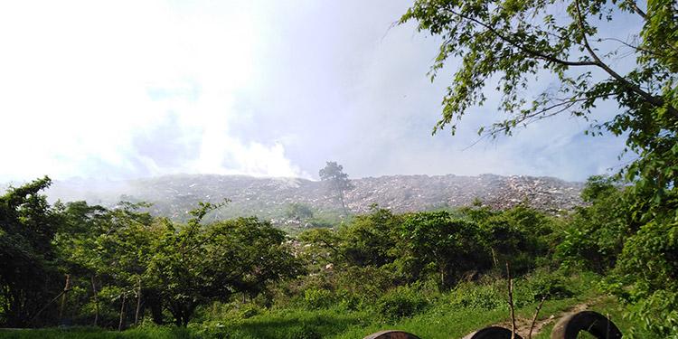 Basurero de Danlí es un foco de contaminación
