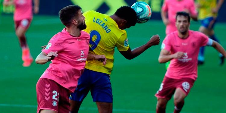 Cádiz y Lozano caen ante Tenerife