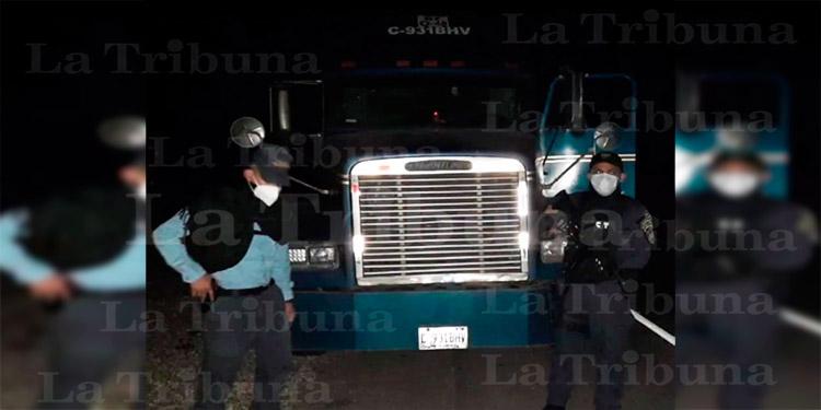 Decomisan en Choluteca varios kilos de supuesta cocaína ocultos dentro de camión