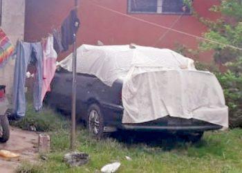 Decomisan carro usado para robo millonario