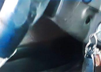 Además de otras prendas, dentro del carro fueron hallados los resultados de un hemograma.