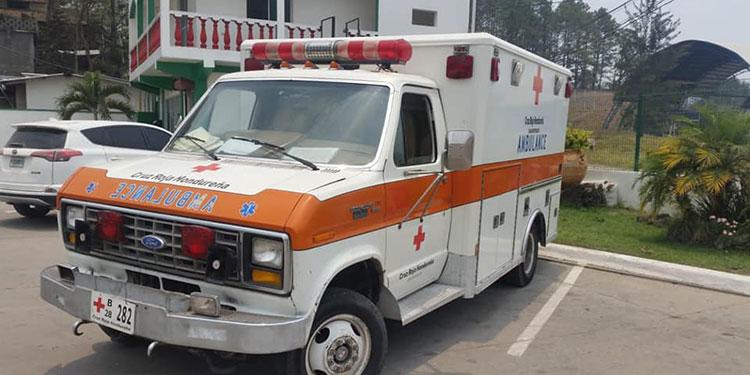 Urge reparar ambulancias de Cruz Roja Hondureña en Siguatepeque