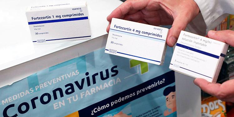 España publica listado medicamentos esenciales para tratar COVID-19