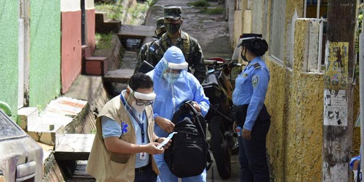 Los principales barrios y colonias de la capital reportan casos de coronavirus.