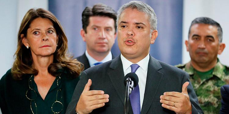 Tribunal colombiano pide explicaciones a Iván Duque sobre la misión militar de EEUU