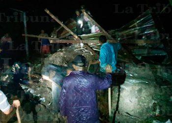 Dos niños mueren soterrados en Intibucá