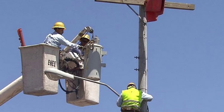 Estatal elétrica enfrenta caída de 42%