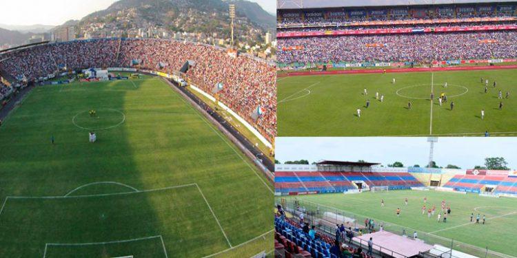 El fútbol hondureño se concentrará en tres ciudades