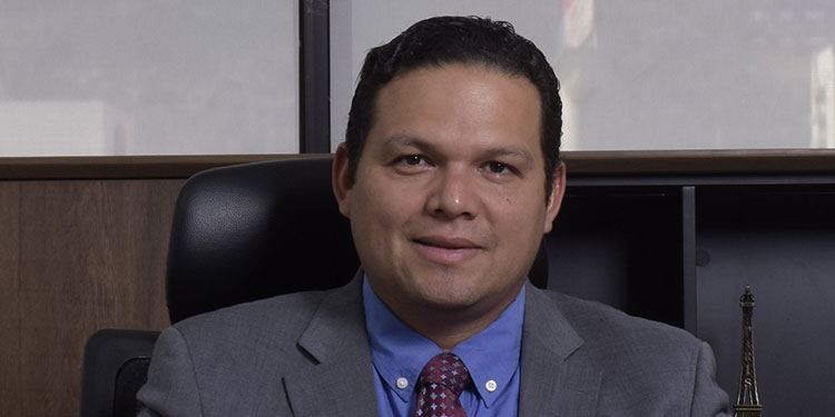 Francisco Fortín, gerente de Confianza SA-FGR.