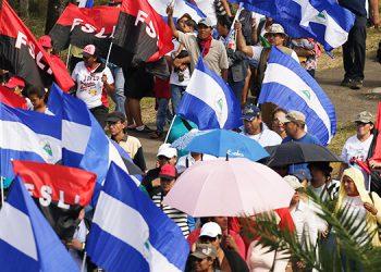 FSLN celebra efemérides de la revolución en medio de la pandemia