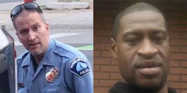 Fianza de $1 millón para policía acusado de matar a George Floyd