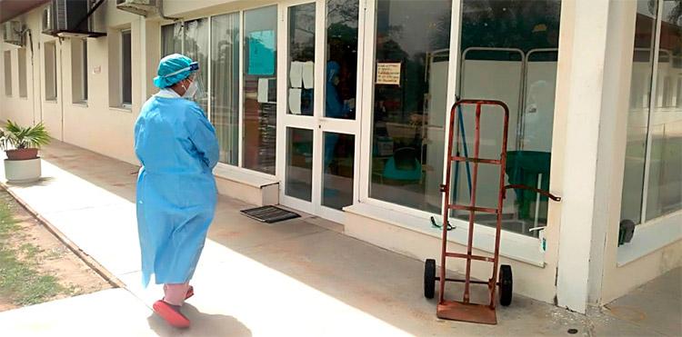 Listas 20 camas para pacientes con COVID-19 en hospital de Tela