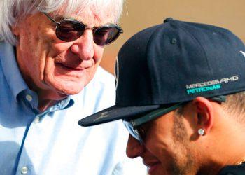 Hamilton, triste por comentarios de Ecclestone sobre racismo