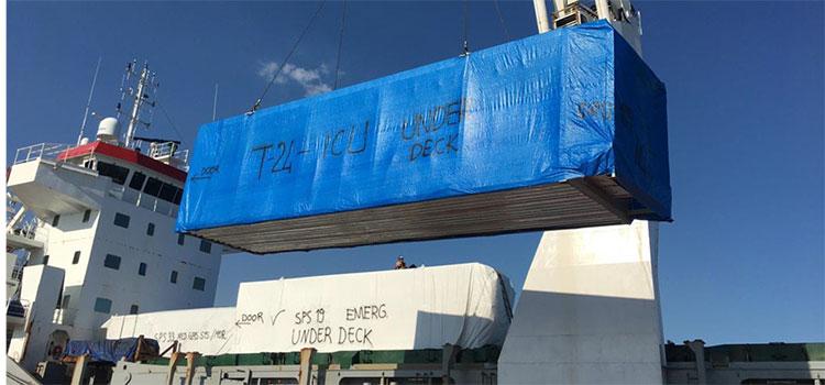 INVEST-H dice que hospitales móviles están en ruta marítima a Honduras
