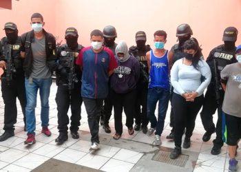 El fuerte despliegue operacional dejó la captura de 13 miembros de organizaciones criminales implicadas en el delito de la extorsión.