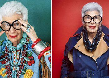 Iris Apfel, la decana de la moda