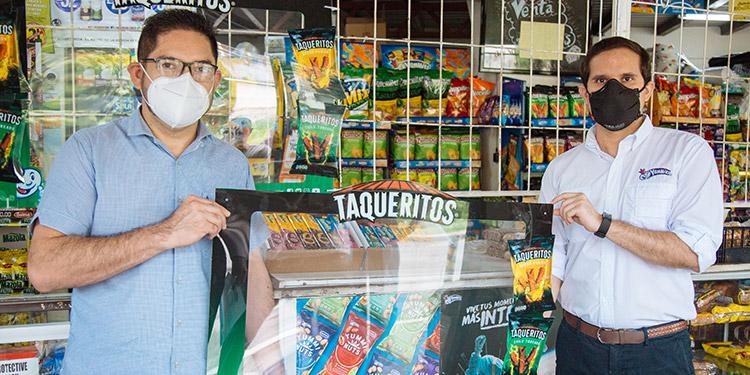 Taqueritos instala marcos protectores en las pulperías y mercaditos