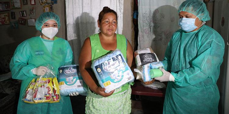 Niño con microcefalia recibe apoyo en aldea El Durazno del Distrito Central