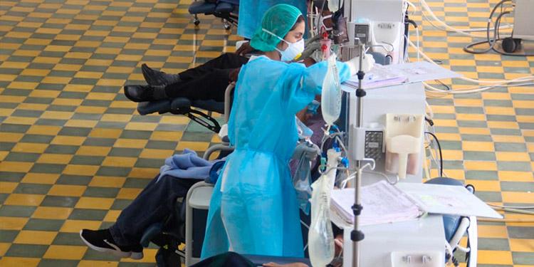 Muere paciente renal por sospechas de COVID-19