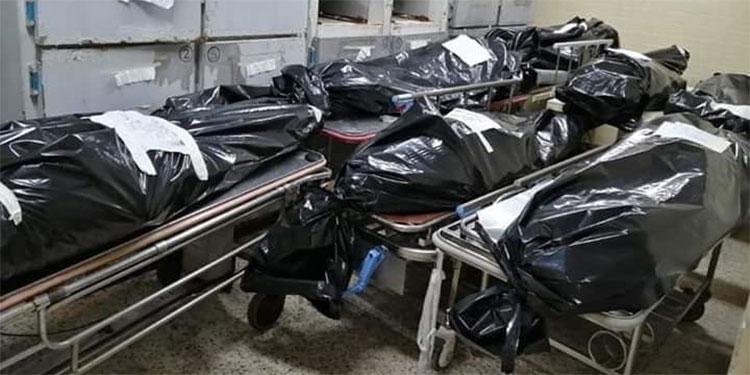 La morgue del HE amaneció llena de cuerpos, cinco de ellos son por COVID-19, confirmó la directora.