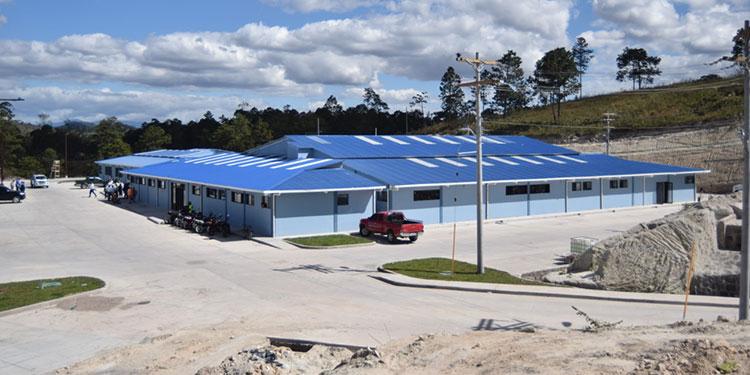 Listo para funcionar Hospital Policlínico en Siguatepeque
