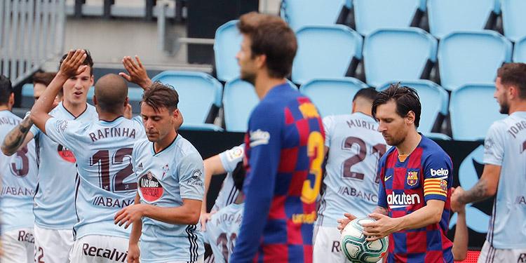 Barcelona un líder frustrado