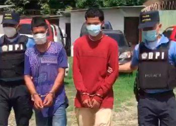 """Por crimen detienen a dos """"gatilleros"""" de la """"MS-13"""""""