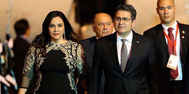 Pareja presidencial hondureña primeros en Latinoamerica en dar positivo al COVID-19