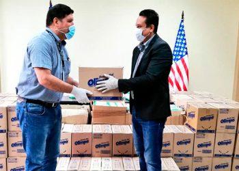 Poder Judicial recibe de EEUU donación de insumos de bioseguridad