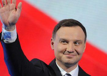 El presidente polaco, el conservador Andrzej Duda.