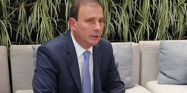 Juan Carlos Sikaffi, presidente del COHEP.