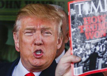 Time no ha publicado portada que mezcla a Trump con Hitler