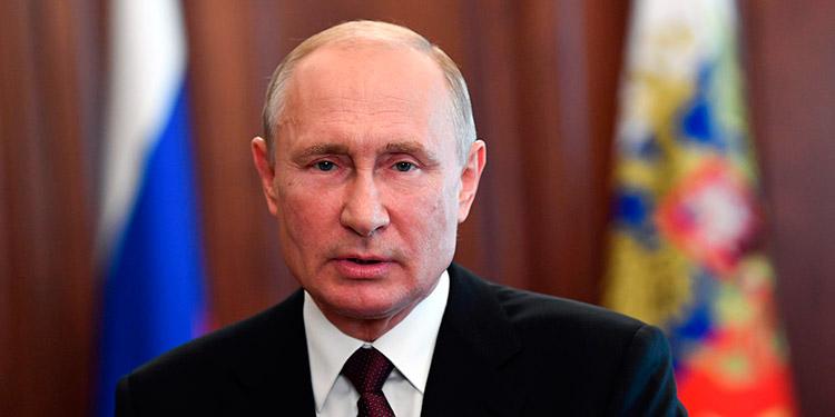 Putin se somete a pruebas por Covid-19 cada 4 días