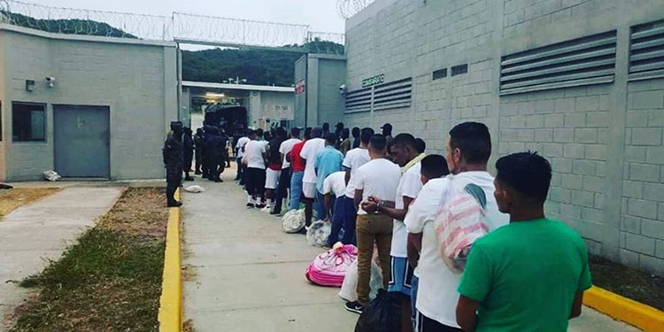 Actualmente la población penitenciaria en Támara asciende a más de 7,500 internos.
