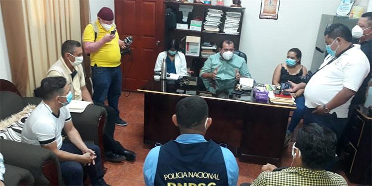 Autoridades y sociedad civil coordinan medidas de reapertura en San Lorenzo