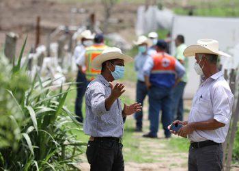 Los campesinos están atentos a las recomendaciones de bioseguridad que emiten las autoridades de salud.