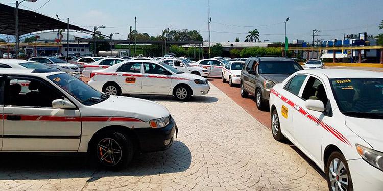 Las unidades de taxis en la ciudad de Choluteca, estarían circulando a partir del 22 de junio próximo bajo medidas de bioseguridad.