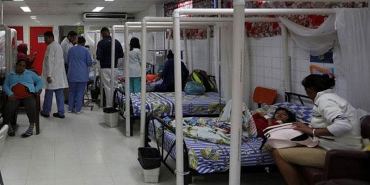 En la capital aumentan los casos de dengue clásico y disminuyen los casos de dengue grave.