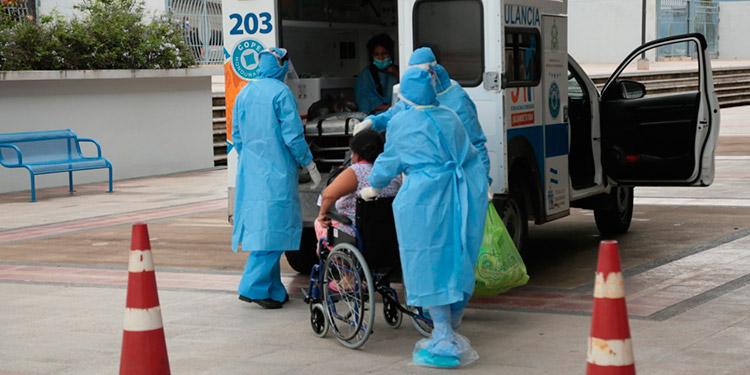 Mañana trasladan a 20 nuevos pacientes de COVID-19 a clínica del Polideportivo