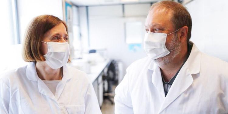 Pareja de virólogos Por una vez los científicos nos hemos sentido valorados