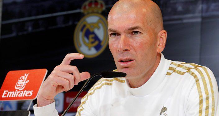 El entrenador del Real Madrid, el francés Zinedine Zidane, cumple 48 años el 23 de junio. EFE/Chema Moya