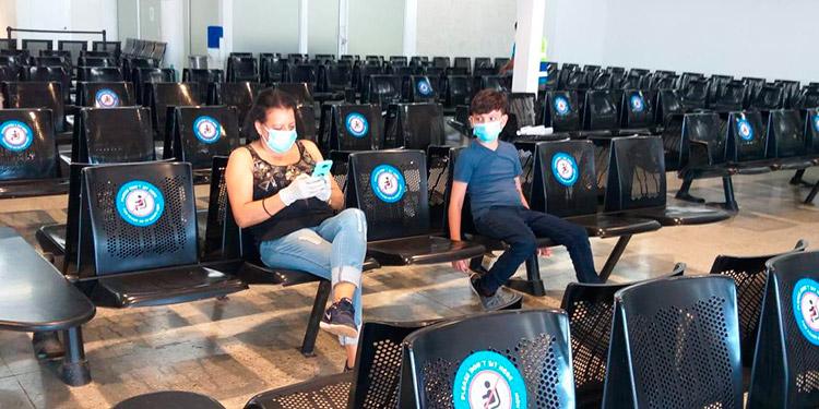 Redoblan protocolos en Toncontín para mayor protección a pasajeros