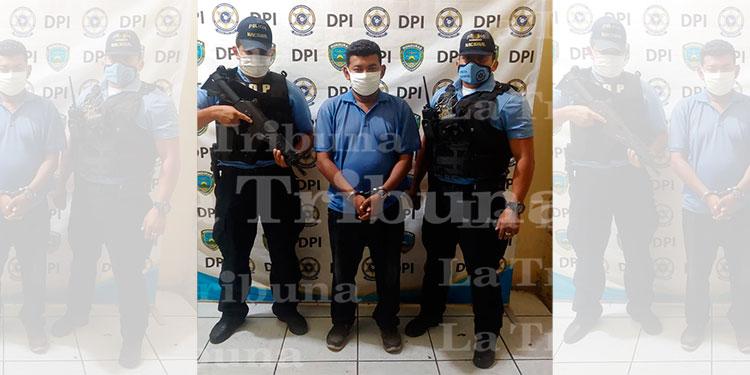 Arrestan a sospechoso de homicidio en Choluteca