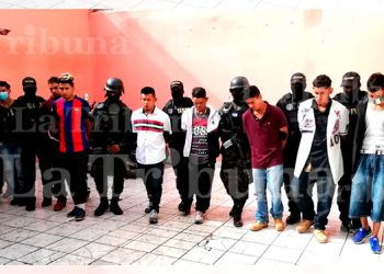 Capturan a diez miembros de organizaciones criminales en la capital
