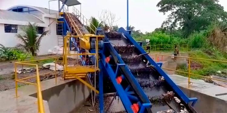 Biobarda para retención de basura del Río Motagua funciona con normalidad