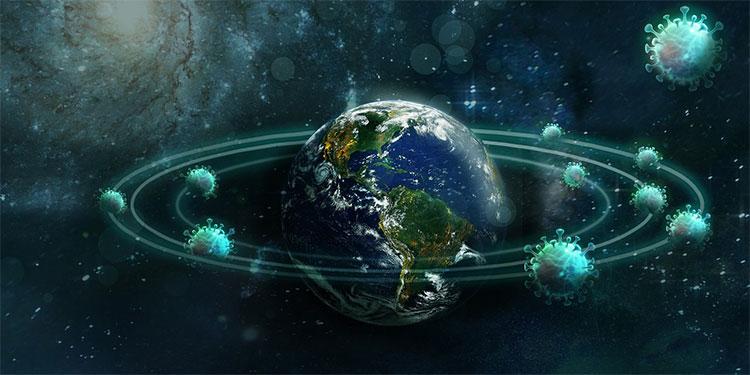 La NASA la ESA y la JAXA documentan el coronavirus desde el espacio