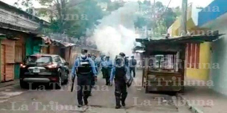 Desalojan a vendedores ambulantes en Comayagüela